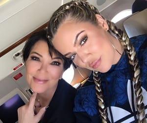 daughter, mother, and kardashians image
