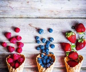 blueberry, FRUiTS, and raspberry image