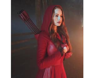 riverdale, madelaine petsch, and red image