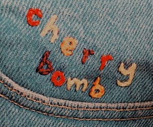 cherry bomb, jeans, and aesthetic image