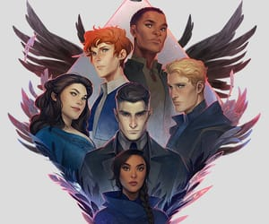 six of crows, art, and illustration image
