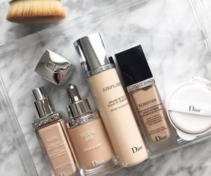 dior, beauty, and Foundation image