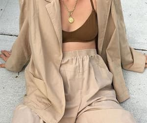 fashion, beige, and aesthetic image
