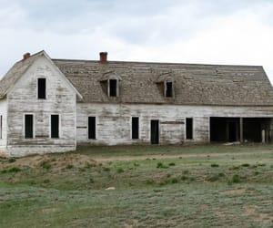 abandoned, barn, and farm image