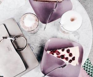 cake, food, and purple image
