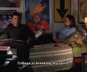 college, gilmore girls, and quotes image