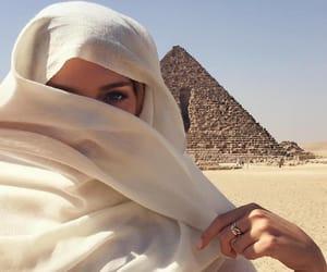girl, egypt, and beauty image