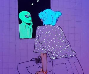 alien and bohemian image