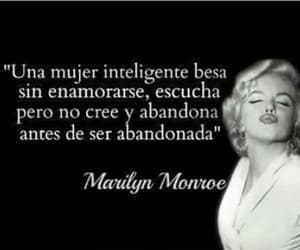Marilyn Monroe, woman, and frases image