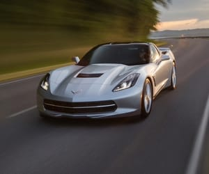 car, luxury car, and chevrolet corvette image