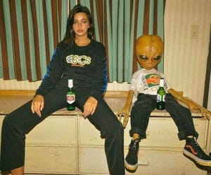 aliens, beer, and friendship image