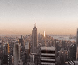 cities, city, and empire state image