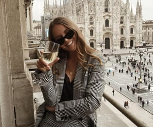 girl, italy, and smile image