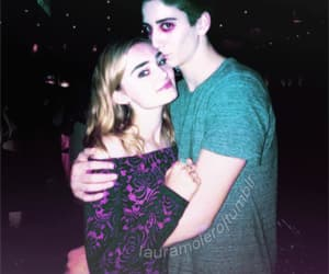 meg donnelly, milo manheim, and zombies disney image