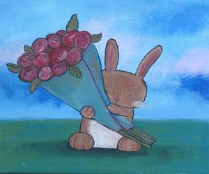 art, nursery art, and original painting image