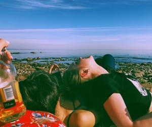 alternative, beach, and drunk image