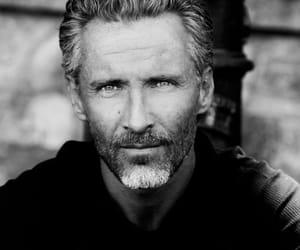 handsome, distinguished, and man image