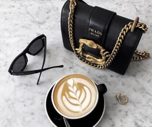 coffee, bag, and luxury image