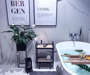 bathroom, decor, and decoration image