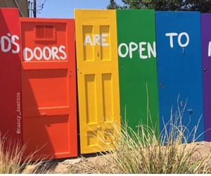 door and gay image