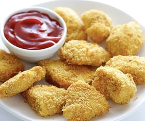 Chicken, food, and savoury image