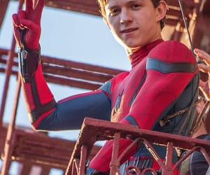 spiderman, Marvel, and tom holland image