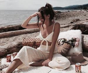 beach, fashion, and girl image