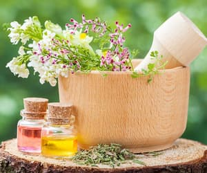 cosmetic products, health supplements, and organic food store image