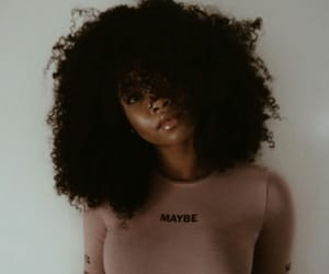 Afro, curly hair, and girls image