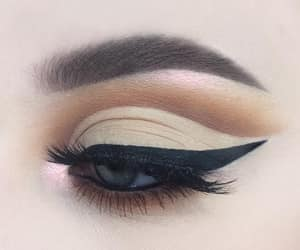 eye liner, makeup, and perfect image