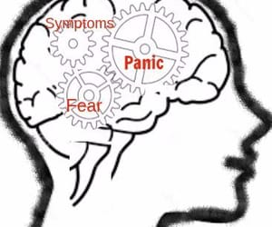 education, mental health, and control panic attacks image
