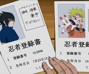 anime, naruto shippuden, and konoha image