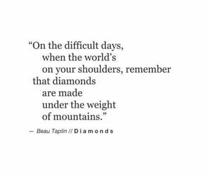quotes and diamond image