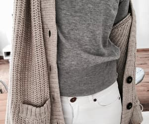 cozy, outfit, and knit image
