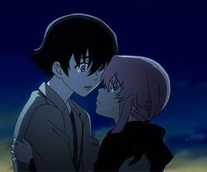 mirai nikki, anime, and gif image