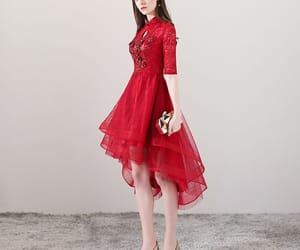 cocktail dress, formal dress, and girl image