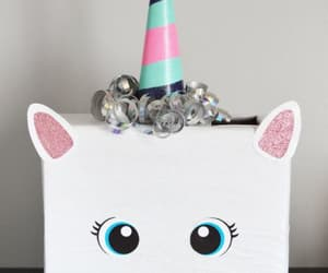 diy, box, and unicorn image