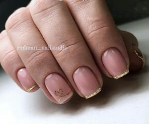 gold, nails, and rich image