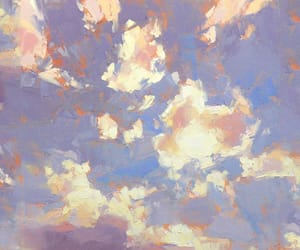 clouds, art, and header image