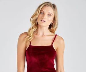 dress, girls, and red dress image