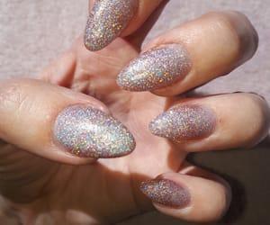 glitter, nailsdesign, and nails image