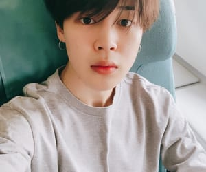 handsome, jimin, and selca image