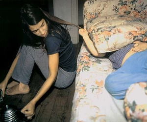 girl, colour photography, and Nan Goldin image