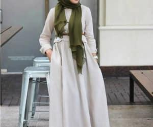 maxi dress hijab image