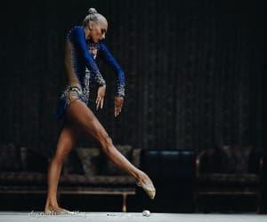 ball, rhytmic gymnastic, and rhythmic gymnastic image