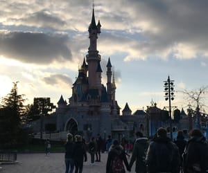 air, background, and castle image