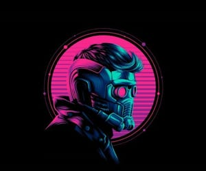 Avengers, neon, and pink neon image