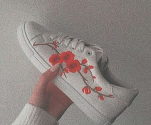 shoes, red, and aesthetic image
