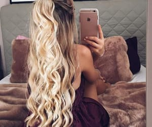 blonde, inspiration, and longhair image