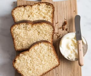 bread, breakfast, and food image